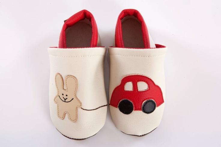 Nyúl autóval cipő by http://www.breslo.hu/Caracolbaby/shop