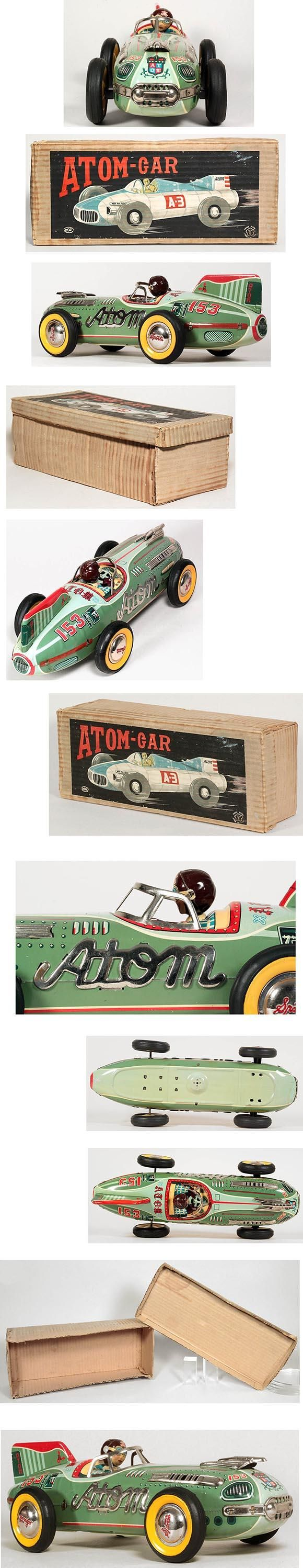 c.1955 Yonezawa, #153 Atom-Car in Original Box