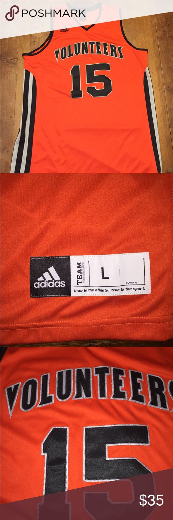 University of Tennessee official basketball jersey NWOT Excellent Condition adidas Shirts Tank Tops