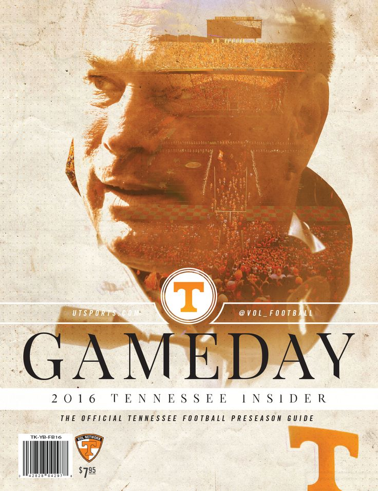 The 2016 Tennessee Insider: Gameday Guide is the official @UTSports Football preseason guide for the 2016 season. #GoVols