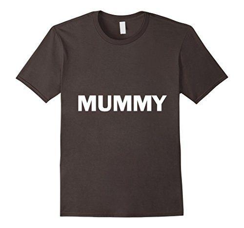 Mummy Lazy Halloween Costume Funny T Shirt