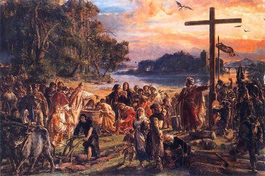 The Baptism of Poland by Jan Matejko