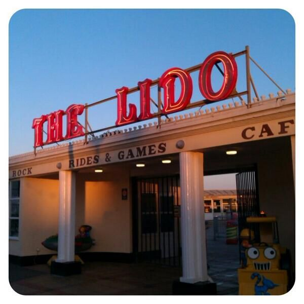 There's one in every seaside town but ours is rather lovely. The Lido, #Worthing