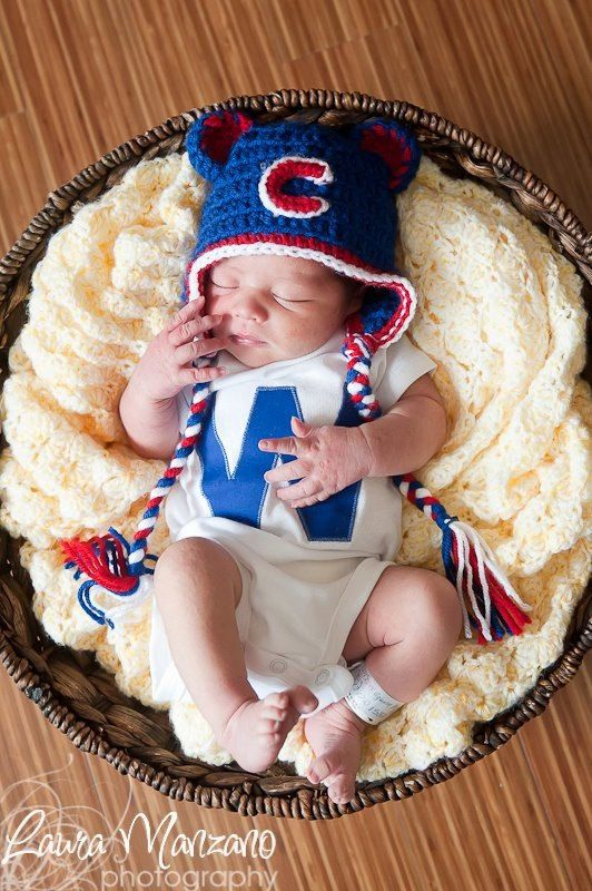 Chicago Cubs W bodysuit or shirt by ArtyPantsDesigns on Etsy