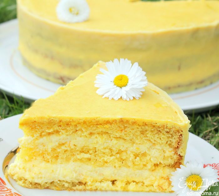 Апельсиновый торт | Кулинарные рецепты от «Едим дома!»