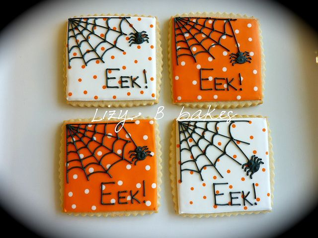 halloween cookies by lizybbakes, via Flickr