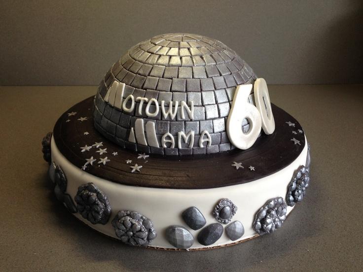 Motown Discoball Cake Torte Per Tutti Torte Per Tutti