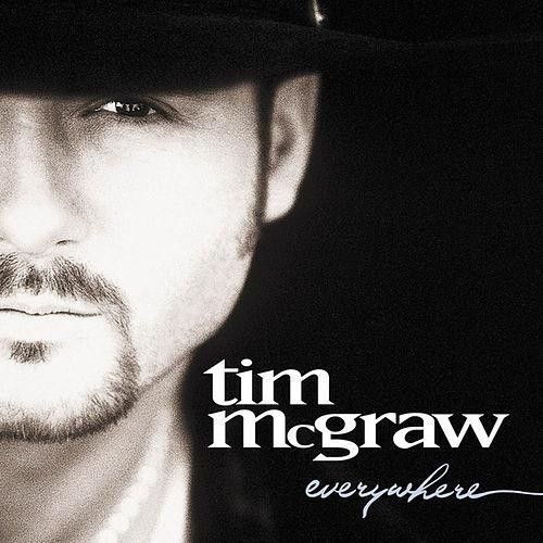 Tim McGraw Everywhere on LP + Download In his record-shattering career, Tim McGraw has sold over 40 million albums and dominated the charts with 32 #1 singles. Since the release of his debut album in