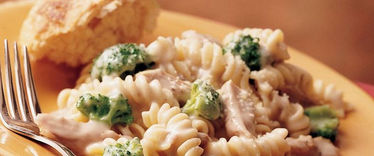 Come home to an Italian dinner. Enjoy turkey and rotini pasta – a hearty casserole!