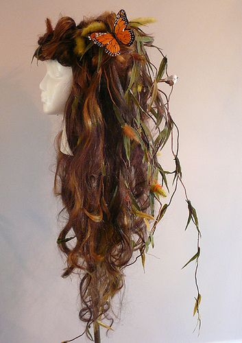 Mother Nature Costume Ideas | This wig was made and worn once for the Hyde Park Art Show. It has ...