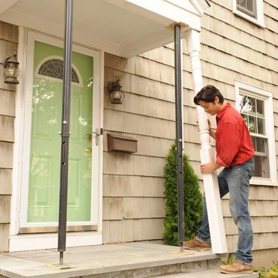 How to Replace Porch Posts