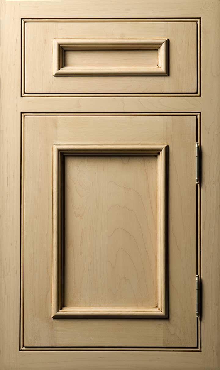 Kent door done in Maple Pearl Latte Glaze #Kent #Door #Maple #Stain & 187 best Door Diary images on Pinterest | Lighter Kitchen cabinets ...