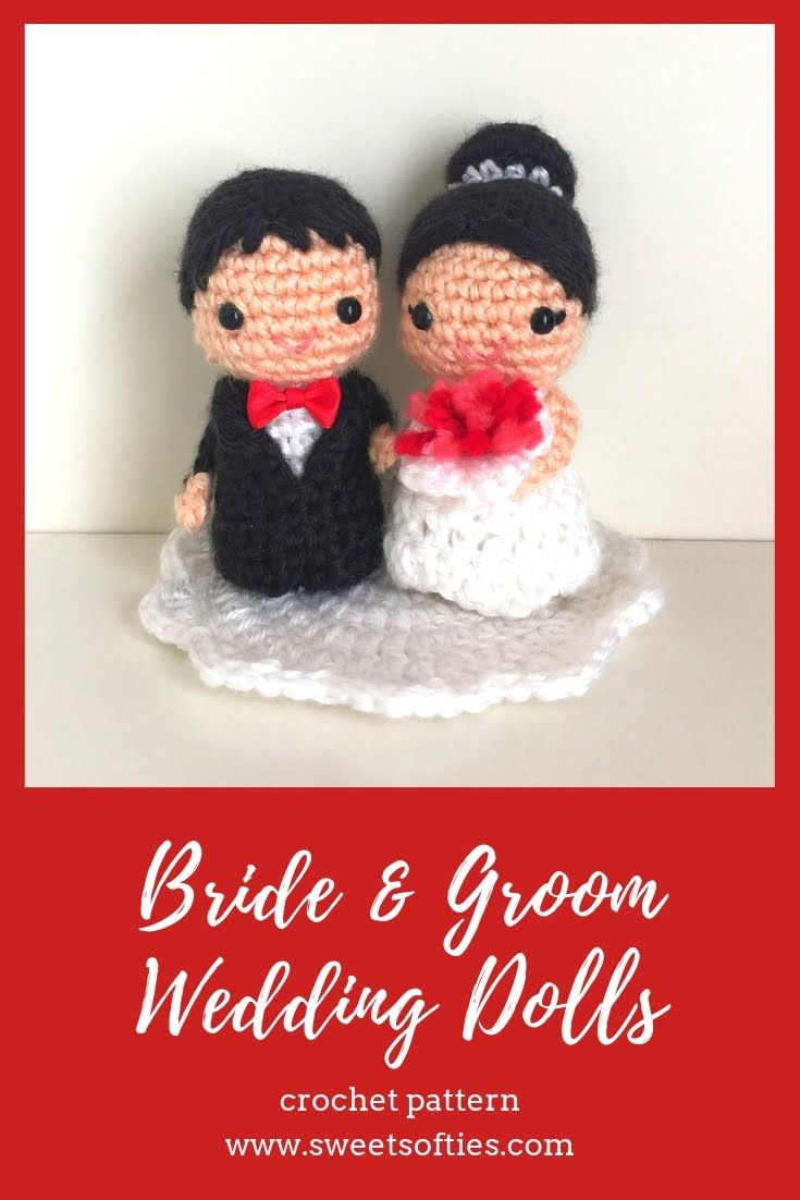 These are the most beautiful amigurumi bride and groom wedding ... | 1102x735