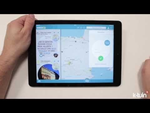 #app #ipad #Wezzoo, comparte el #clima del lugar donde te encuentras.