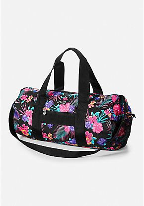 Tropical Fl Duffle Bag Justice Bags Barbie Doll House Dolls Duffel