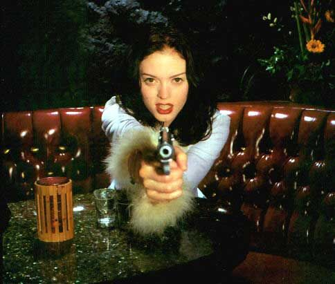 Rose McGowan: Shots in the Dark, Album Cover, 1996 (Henry Mancini tribute album)