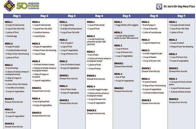 renal diet menu samples