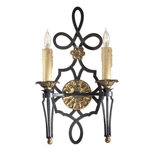 lighting twolight wall sconce