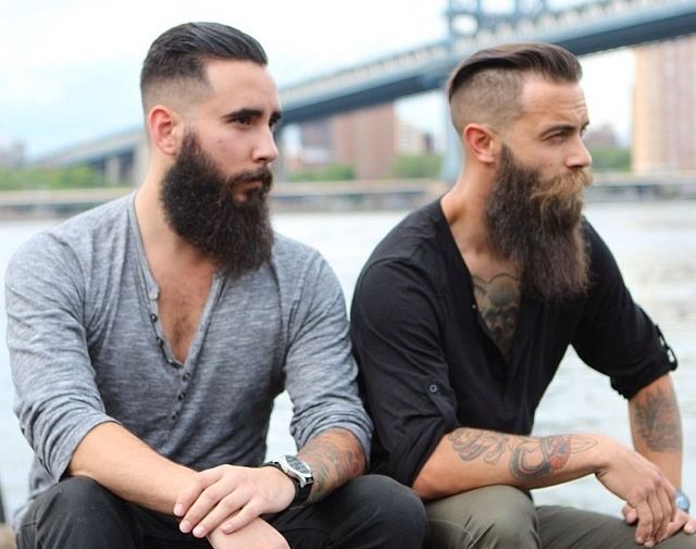 Sensational 1000 Images About Beards And Staches On Pinterest Different Short Hairstyles Gunalazisus