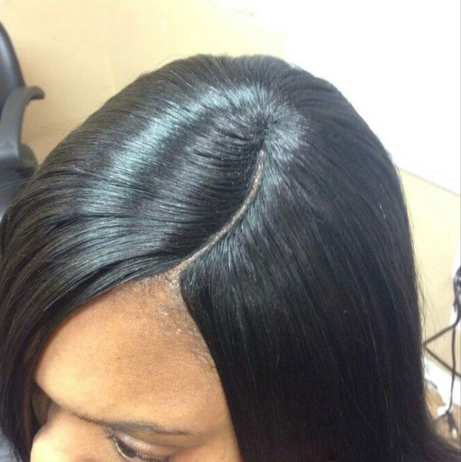How to Do Invisible Part Sew-in Weave. To get a natural look, you can create an invisible part with a sew-in weave. Of course, you can wear hair with an invisible part. Thus, your natural hair w