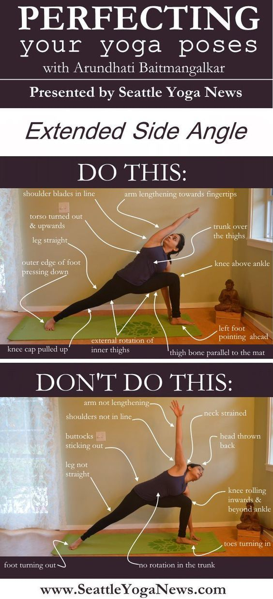 DownDog Yoga Poses for Fun & Fitness: Perfecting Extended Side Angle Yoga Pose.  From the Downdog Diary Yoga Blog found exclusively at DownDog Boutique