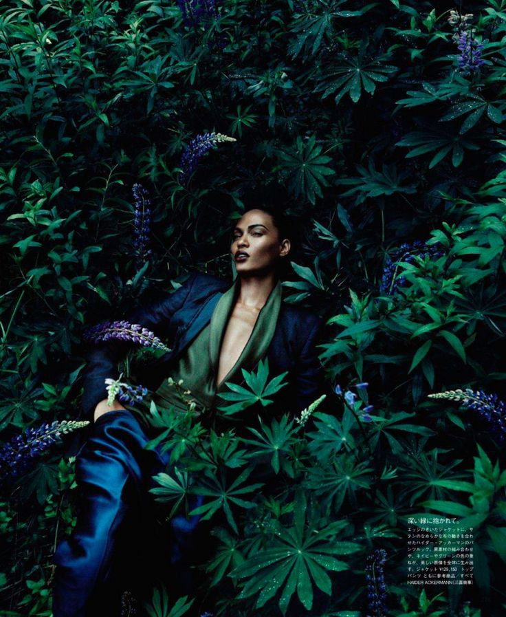 Vogue Japan Editorial December 2011 - Joan Smalls by Solve Sundsbo