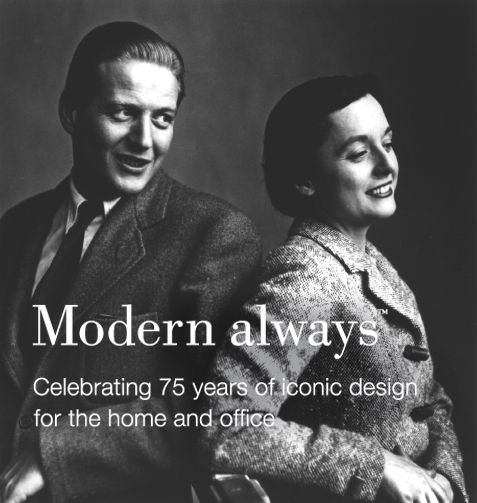 Knoll founders, Hans and Florence Knoll. #modernalways