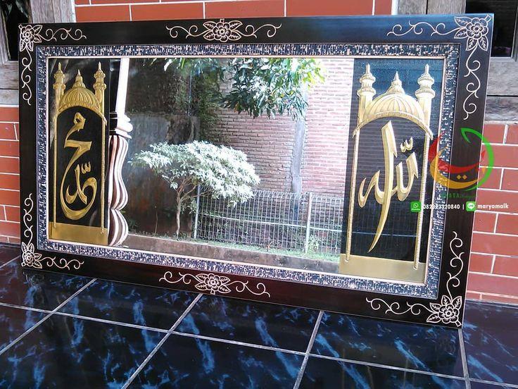 Pin di Kaligrafi Arab (Abata Kaligrafi)