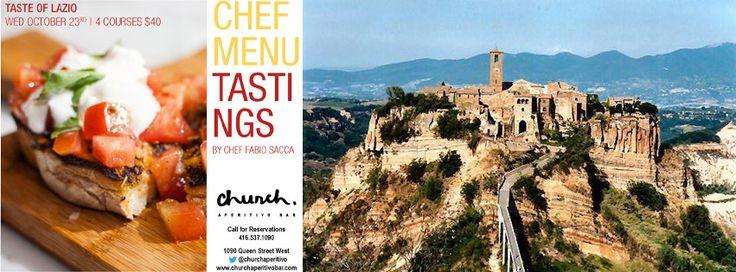 Chef Menu Tasting, taste of Lazio, Italy - Church Aperitivo Bar #toronto #queenwest #food #chefmenutasting