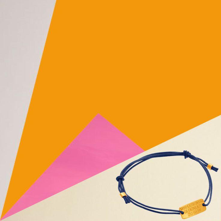 Dalai Lama: Wir leben um glücklich zu sein  Armband mit 24 Karat Gold Plakette   #gravur #personalization #initialen #jewelry #24Karat #puregold #gold #Goldsmith #Armband #Spirit #Glück #Love #Goldschmied #dalailama #geometry #fall #Color #design