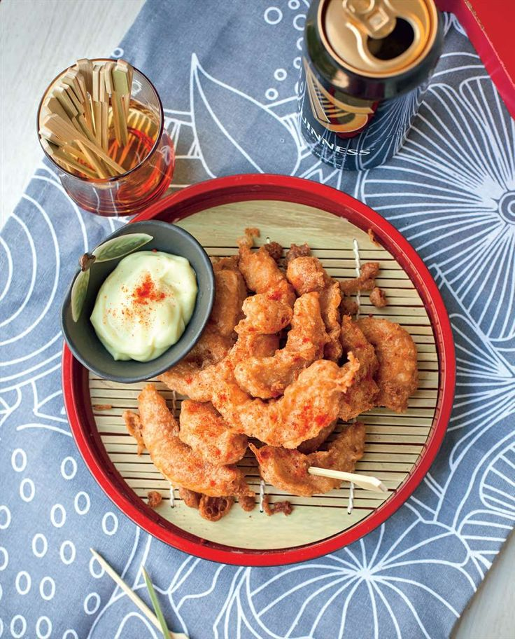 Guinness battered prawns by Billy Law from Have You Eaten? | Cooked