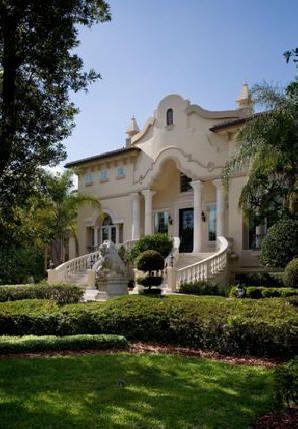Italian Baroque Villa Plan Design, Palace Luxury Home Design