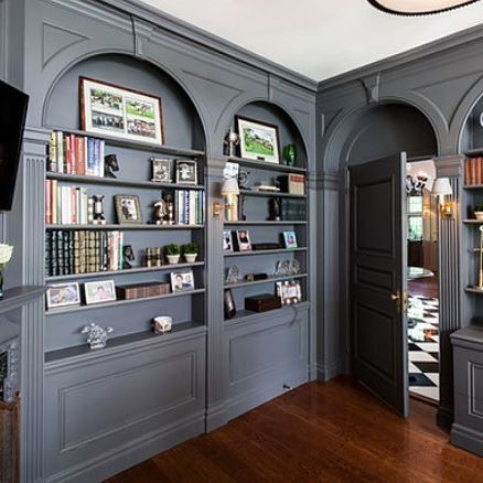 home office wall colors. commit to gray and create a statement space walls kendall charcoal hc home office wall colors r