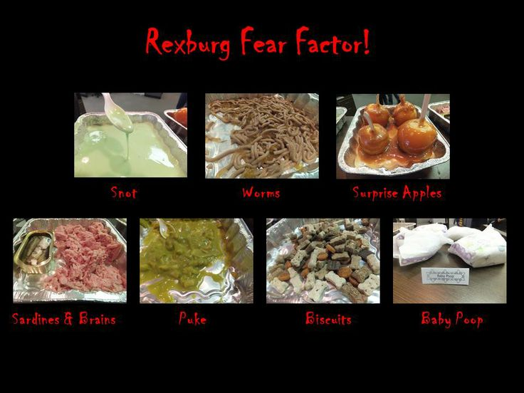 Haha, yeah this is me in #fearfactor #fearfactormy Fear ...  Fear Factor Worms