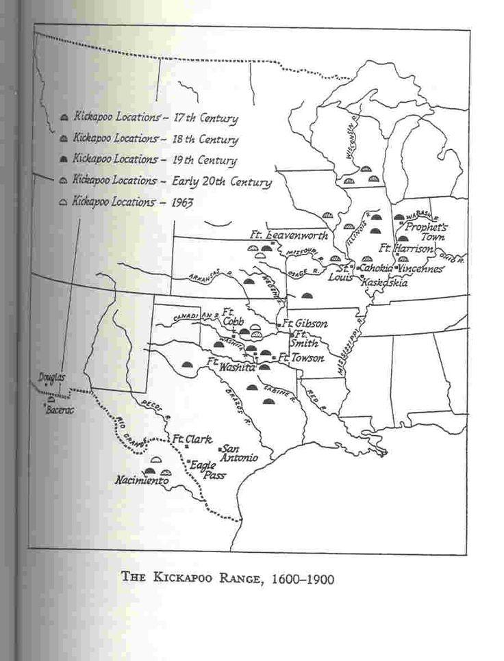 Kickapoo American Indians history of tribe in encyclopedia   History of the Mexican Kickapoo   Native American Encyclopedia