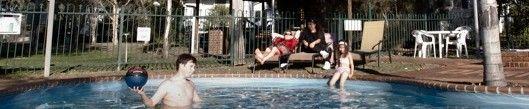 Kahlers Oasis Caravan Park swimming pool