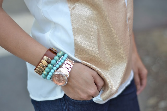 arm candyExpress Oneself, Dreams Style, Totally Doable, Stacked Bracelets, Sequins V Neck, Doable Stacked, Arm Candies, Arm Parties, Beautiful Wraps