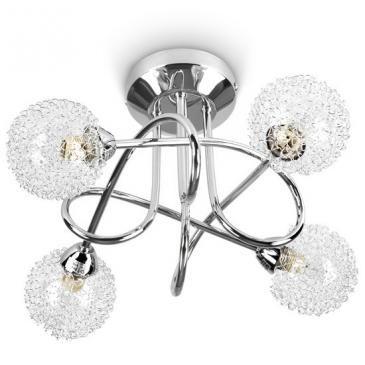 Deckenleuchte A++-E mit Drahtkugel   Ceiling light modern design   @jago24