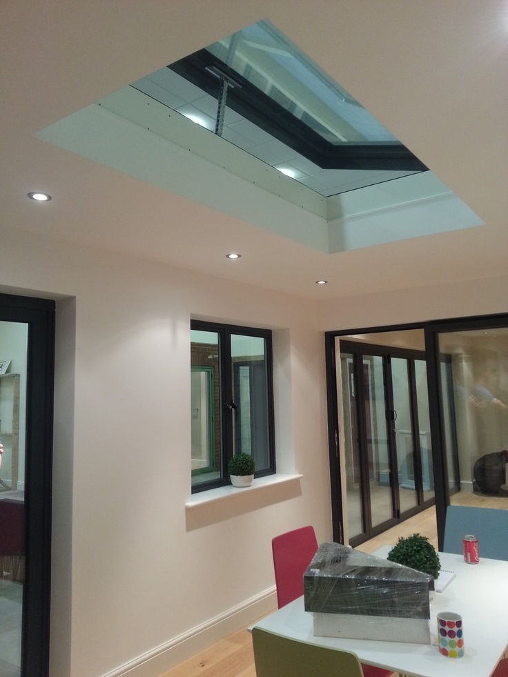 Vitral Skyvision Comfort Installed At The New Showroom For G U0026 N Windows.