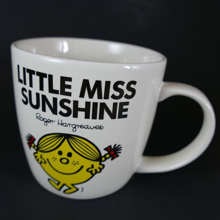Little Miss Sunshine Mug Roger Hargreaves Mr Men Wild and Wolf Laughterland #ThoipAChorionCompany