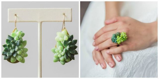 This Succulent Jewelry Actually Grows While You Wear It  - HouseBeautiful.com