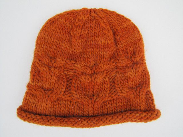 owl cable hat free pattern Knitting with needles Pinterest