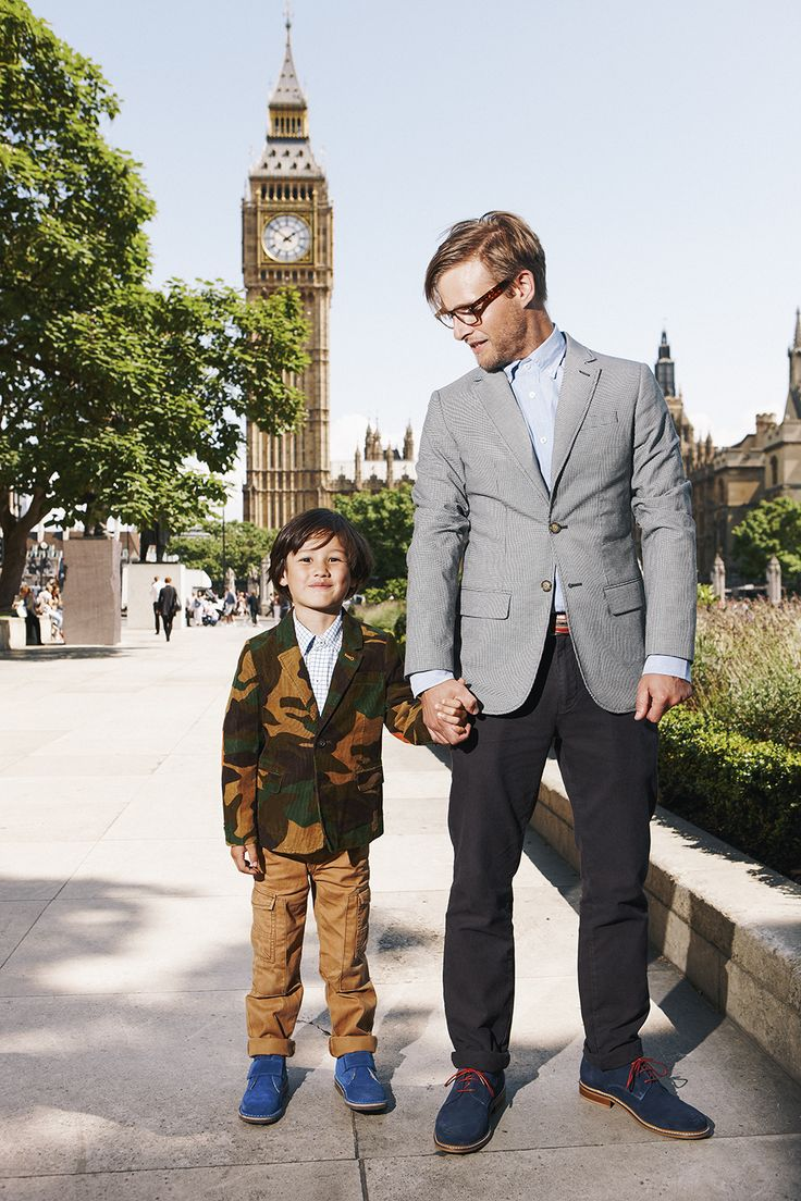 Big (Ben) and Little! Shop with 15% off and free delivery with code PIN1 (UK) or PIN2 (US) #Boden #AW14