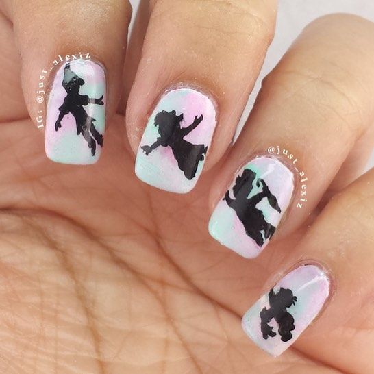 Tinkerbell Nails: Best 25+ Peter Pan Nails Ideas On Pinterest