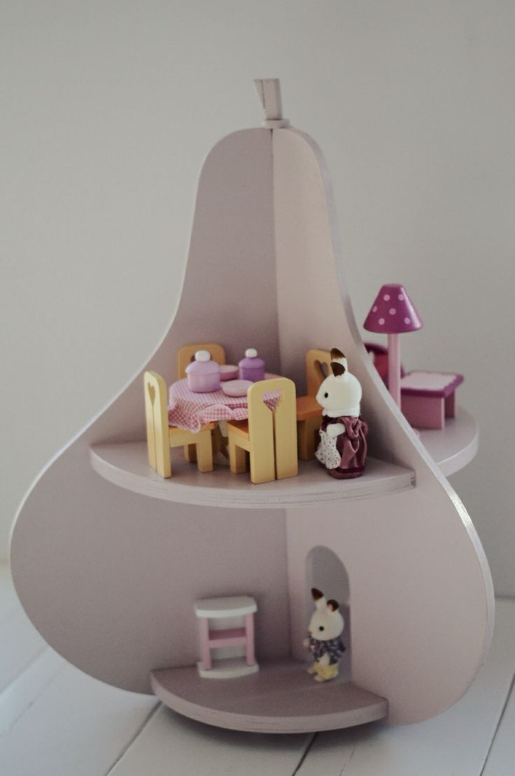 Plus de 1000 id es propos de silvanian families sur for Sylvanian chambre parents