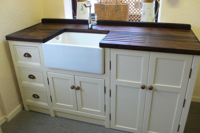 interior with kitchen small belfast sink all hardwood kitchen set