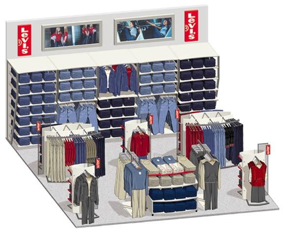 Levis Planogram Retail Visualisation Pinterest