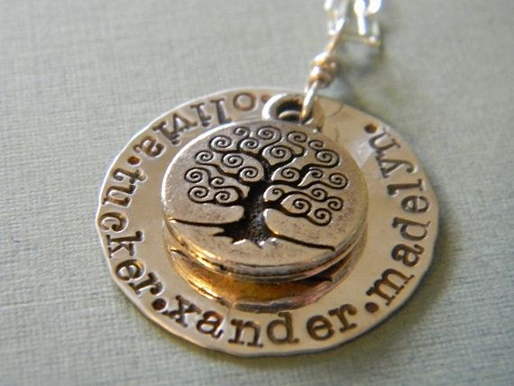 personalized family tree by debidean on Etsy, $38.00