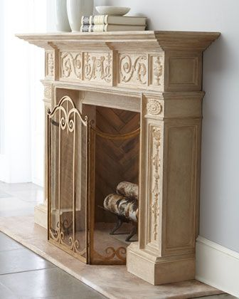 42 best Fireplace images on Pinterest | Marble fireplaces ...