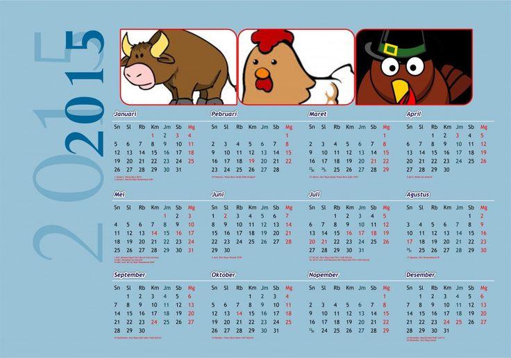 Kalender 2015 Indonesia - Design_30_Photo Album